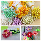 150PCS Artificial Fake Flower Stamen Double Tip Pearlized Craft Cakes Decoration