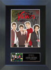 THE VAMPS No2 Signed Mounted Autograph Photo Prints A4 603