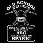 OLD SCHOOL WELDER (torch welding machine watch professional inverter) T-SHIRT