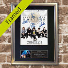 BRING ME THE HORIZON Signed Mounted Autograph Photo Prints A4 559