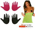 pink black Nipple Pasties daisy Breast Cover Invisible petal patches HANDS