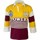 NRL Retro Heritage Jersey 1988 - Brisbane Broncos - Adults - Rugby Classic BNWT