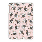 White & Grey French Bulldog Pink Pattern Animal Dog Pad Mini/Air/234 Case Cover