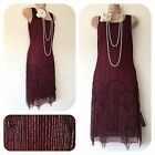 flapper tassel dress