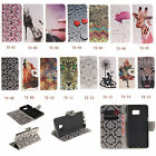 High Wallet Card Holder Leather Case Cover Skin For Samsung Smart Phone TX