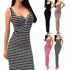 Sexy Women Bandage Bodycon Maxi Casual Evening Cocktail Party Prom Long Dress
