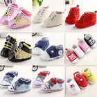Cute Infant Toddler Baby Boy Girl Kids Soft Sole Shoes  Sneaker 0-18m