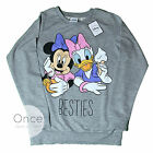 Primark Official Disney Minnie Mouse And Daisy Duck Besties Sweatshirt Jumper