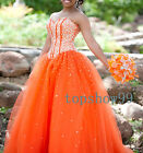 New Beaded Quinceanera Dresses Prom Dress Ball Gowns Formal Wedding Dress