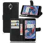 Magnetic Flip PU Leather Card Wallet Stand Case Cover For OnePlus 1 2 3 Three