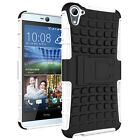 Rugged Rubber Hard Protective Impact Armor Case Cover For HTC M8 M9 M10 A9 X9