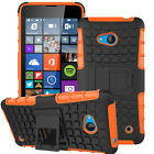 Rugged Dual Shockproof Case Protective Stand Back Cover For Nokia Lumia Series