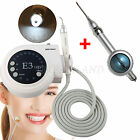 Dental Ultrasonic Piezo Scaler LED Handpiece fit EMS WOODPECKER + Air Polisher
