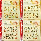 Color Printing Water Tranfer Nail Art Stickers Ice cream Halloween Style 6-2124