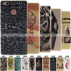 Protective Back Cover Retro Silicone Rubber Soft Pattern Shell Case For Huawei