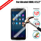 100% Genuine Ultra Thin Tempered Glass Screen Protector For Alcatel IDOL 4 5.2""