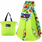 BABY COTTON SLING CARRIER ADJUSTABLE SLING WRAP RIDER BACKPACK BRACE FOR MOM DAD