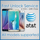 FACTORY UNLOCK CODE SERVICE IMEI AT T ATT SAMSUNG GALAXY S8 S7 S6 S5 S4 S3 NOTEs
