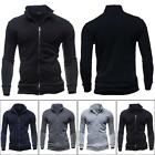 Hot Men's Slim Fit Warm Hooded Sweatshirt Zipper Coat Jacket Outwear Sweater
