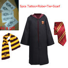 Harry Potter Cape Costume Gryffindor/Hufflepuff/Slytherin/Ravenclaw Robe Cloak