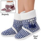 Snowflake Fleece Lined Booties, by Collections Etc