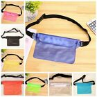 Pouch Bag Waterproof Case With Waist Strap For Beach Swimming Boating Kayaking