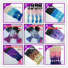Lot Mixed 3 Color Kanekalon Jumbo Braiding Synthetic Hair Extension Twist Braids