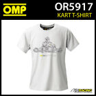 OR5917 OMP Kart Karting K-Style T-Shirt Cotton Fabric Adult Sizes XS-XXXL