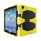 Heavy Duty Shockproof Protective Hybrid Rugged Stand Hard Case For iPad Air 2