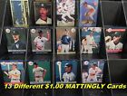 DON MATTINGLY _ 13 Different $1.00 Cards _ Choose 1 or More _ 10 Mail FREE / USA