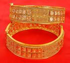 317 Indian Bollywood Costume Wedding Style Bangles Bracelet Set Fashion Jewelry