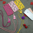 For iPhone 5s 6/6S Plus New Rubber Soft TPU Silicone Slim Back Case Cover