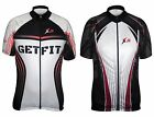 X-2 Mens Breathable Anti Bacterial Short Sleeve Cycling Jersey