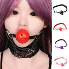 Adult Sex Toy Game Mouth Ball Gag Fixation Bondage Fetish Cosplay Restraint New