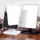 Make Up 20 LEDs Cosmetic Mirror Beauty Portable Touch Screen Adjustable Mirror