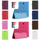 Durable Flip PU Leather Stand Case Cover For Samsung Galaxy Tab T350 T550 T560