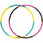 DTX Fitness Weighted Padded Exercise Hula Hoop Abs Core Workout Ring Massager Ab
