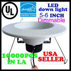 40Pack DownLight 12W LED Recessed Trim Dimmable 5 6 Inch Retrofit Down Light UL