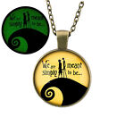New Night Light Pendant Necklace Women Fashion Long Chain Necklace Gifts