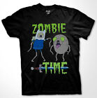 Adventure Time Zombie Time T-shirt Jake Finn cartoon Fan Men Shirt S-3XL