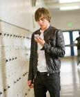 17 again 2 - Zac Efron 17 Again Oblow Wrinkled Washed Real Leather Jacket