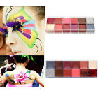 12 Colors Face Body DIY Painting Oil Art Make Up Helloween Cosmetic Set Kit