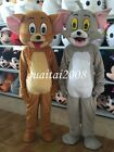 2017 Tom Cat and Jerry Mouse Mascot Costumes Halloween Fancy Dress for Advertise