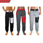 X-2 Mens Active Fleece Joggers Sweatpants Gym Tracksuit Pants Running Athletic