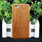 Natural Cherry Wood Wooden Hard Case Cover for iPhone 6/6S/7 or 6 / 6S / 7 Plus