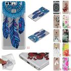 Rubber Pattern Clear Soft TPU Cute Back Cover Case For Huawei P9/Lite Sony E5/XA