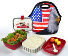 Waterproof Thermal Insulated Lunch Bag Box Cooler Bag Picnic Storage Tote Latest