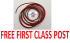 NEW SILICONE 60 O-RING CORD 7MM DIAMETER - ANY LENGTH FROM 1 METRE