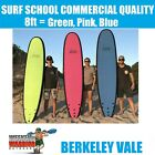 Softboard 8ft Adult Surfboard Foam Learn to Surf Soft Board PINK BLUE GREEN