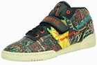 Reebok workout mid strap int bsq chaussures mode homme noir multicolore